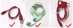 contoh gulungan kabel yang benar