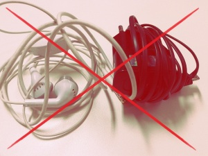 cara menggulung kabel yang salah