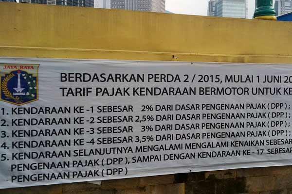 Aturan Pajak Progresif 2015 Jakarta